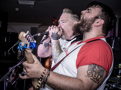 Fat n Furious at welsh Rockabilly Fair 2017