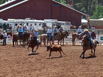 Nevada County Fair, Aug 11. 2011 - Team Roping
