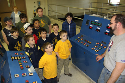 Scouts Visit Water Treatment System, Hometown (4-25-2013)
