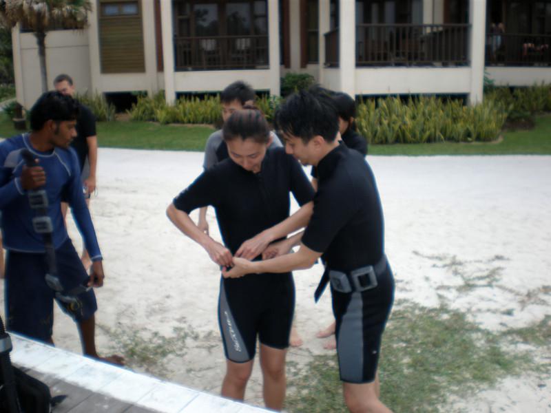 [20080515] Will & Bee Scuba Diving @ Redang (5).JPG