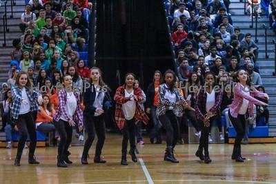 Dance Team Pep Rally 3/27/15