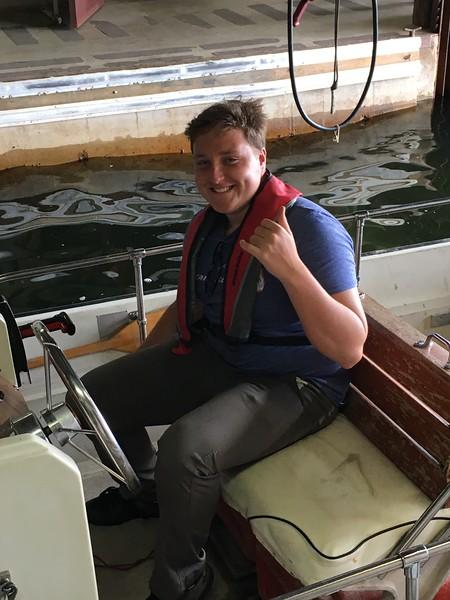 Whaler operator, Hayden Cohan