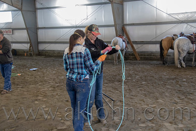 Danielle Gallagher's Spring Roping Clinic