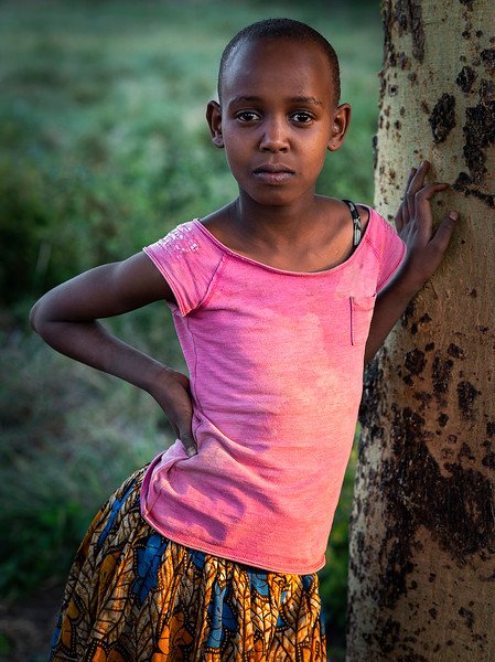 Portrait of a young student.  Tanzania, 2019.