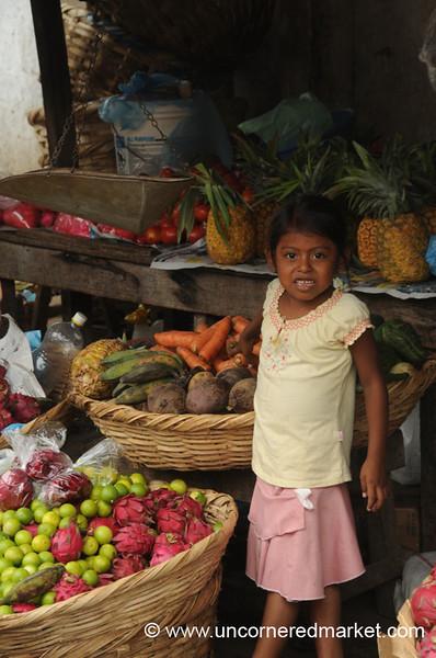Unsure of the Camera - Granada, Nicaragua