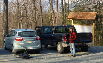 Trail work January 2015