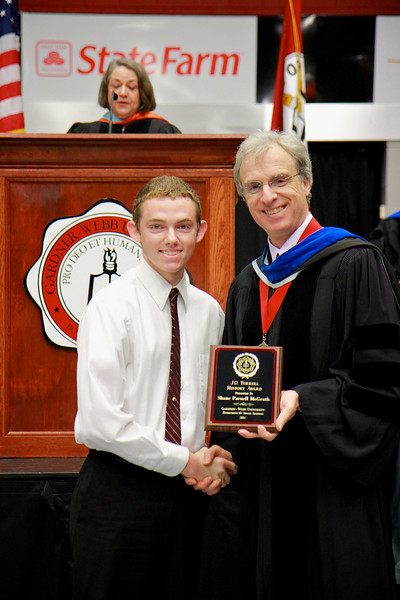 56th Annual Academic Awards Day Ceremony. J. O. Terrell History Award: Shane Parnell McGrath