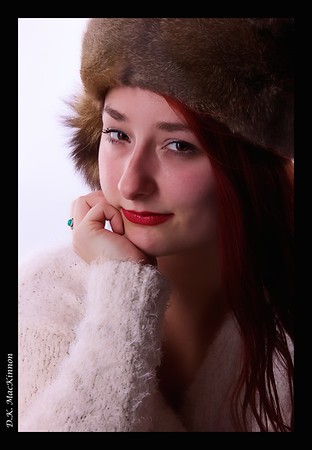 Kayley on Fur