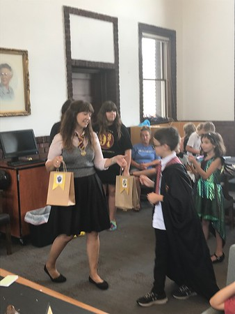 Harry Potter Birthday at Library