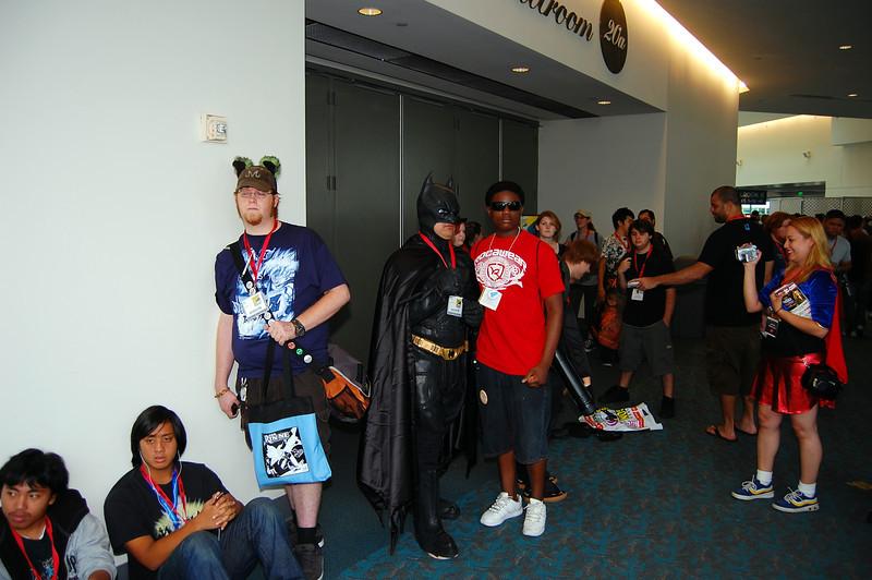 Jay and Batman, very thug