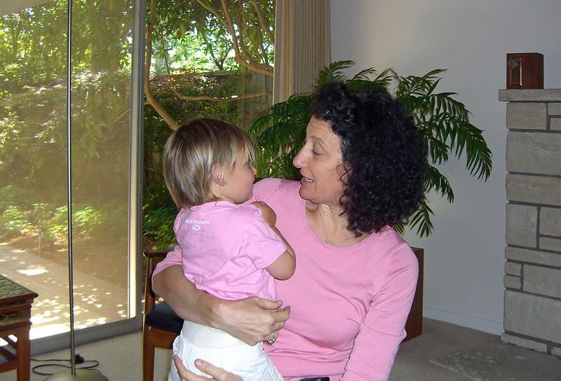 Palo Alto; Aliza visits on Memorial Day