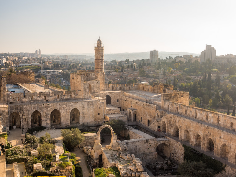 Ruins of the Citadel, Jerusalem