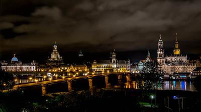 Dresden by night 2014