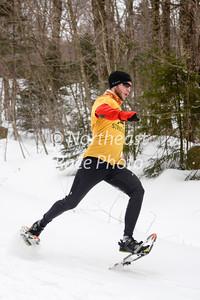 Greenwood Gallop 5K snowshoe race