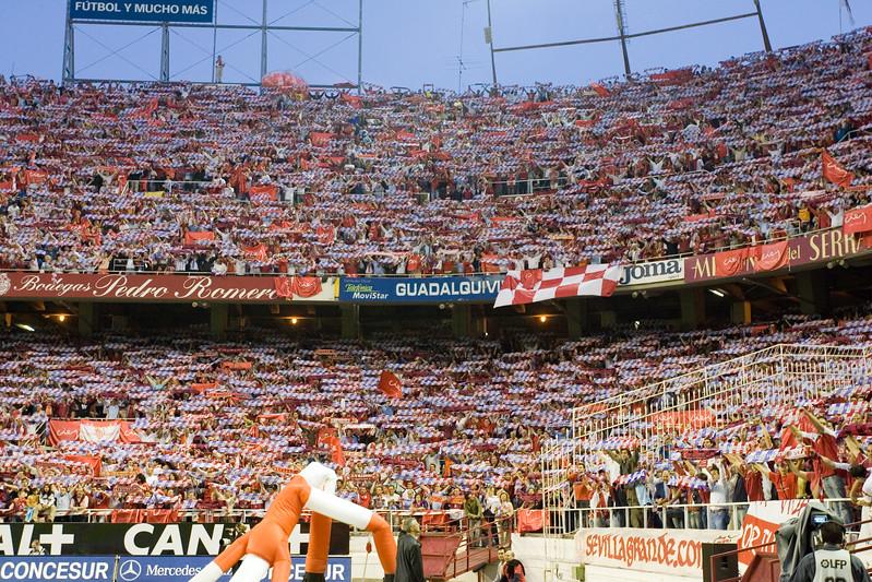 Sevilla FC fans