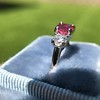 1.71ctw Ruby and Diamond Trilogy Ring 34