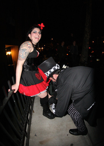 Halloween in New York City.
