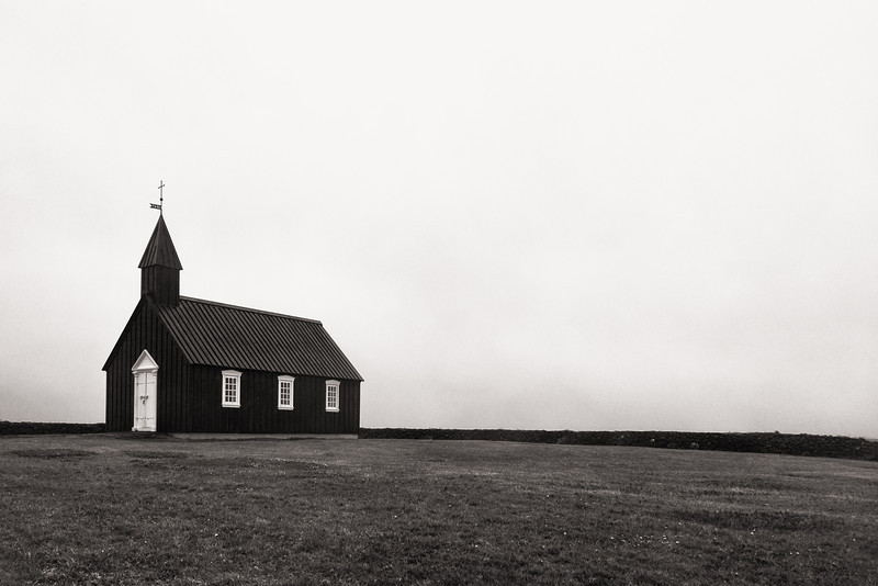 LIttle Black Church at Búðir, Snæfellsnes Peninsula