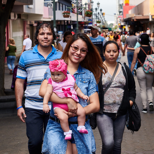San Jose Street Life -- Family
