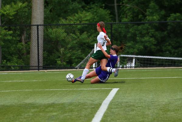 Soccer Girls Regional vs. W. Mich. Chr. - KCHS - 6/7/16