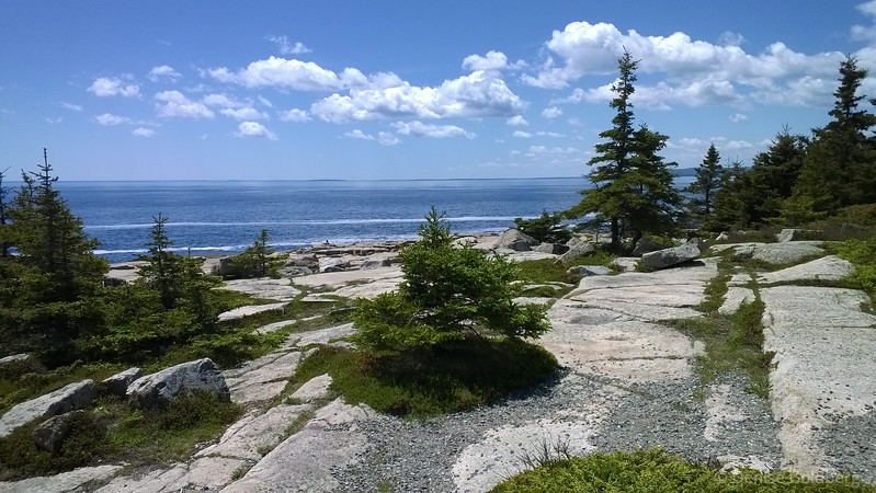 at the tip of the Schoodic Peninsula, Acadia National Park