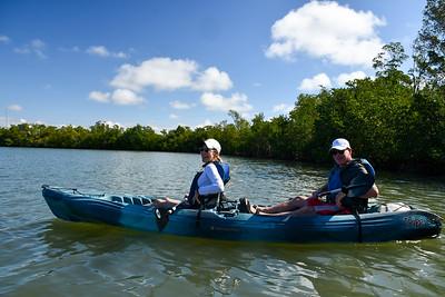 10AM Mangrove Tunnel Kayak Tour - Lerner