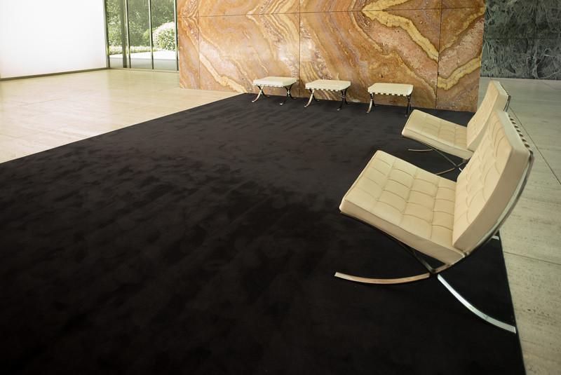The Fundacio van der Rohe - Inside