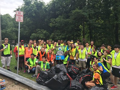8.5.16 Patapsco River Watershed Cleanup at Daniel's Dam
