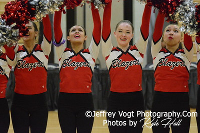 1-09-2016 Montgomery Blair HS Varsity Poms at Northwest HS, Photos by Jeffrey Vogt Photography with Kyle Hall