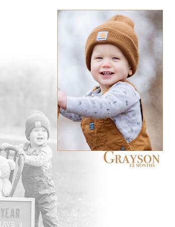 Grayson 12 Months