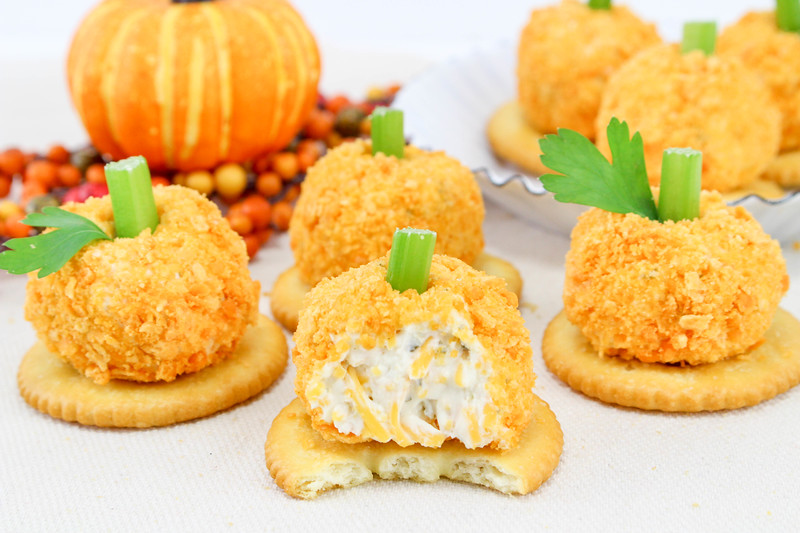 Cheese Ball Recipe Mini Pumpkin Bites 7.jpg