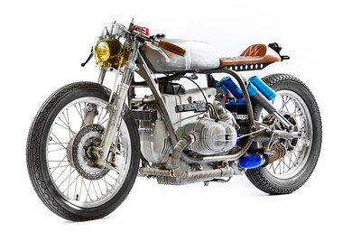 THIS BMW R100 IS PACKING A PORSCHE TURBO