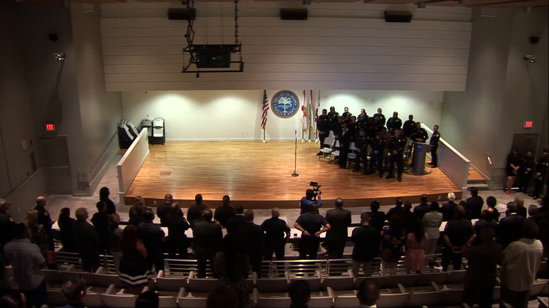 Reserve Officer Swearing In Ceremony