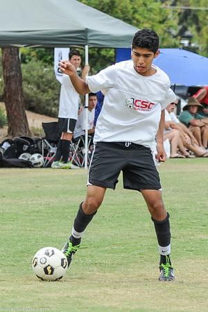 CSC Boys (BU16) vs Aztecs (BU15) 6-30-2013