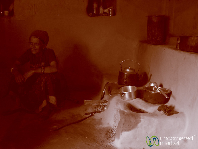 Resting in the Kitchen - Sikkim