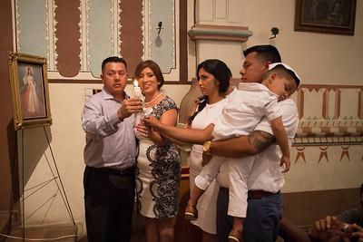 Damien's Baptism