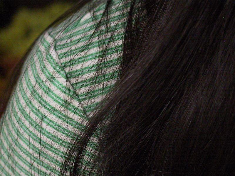Lisa's shoulder