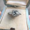 2.73ct Old European Cut Diamond Diamond Ring, AGS M VS2 6