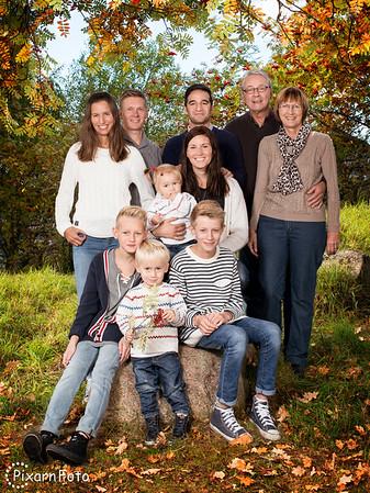 Familjefoto Azari Spalle Wahlstedt