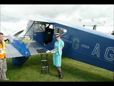England, 2007 Goodwood Revival -1930's de Haviland Rapide flight (DH89 Dragon)