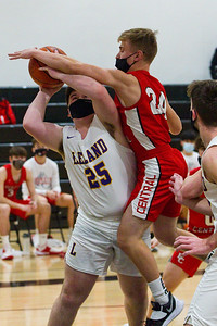 Basketball: Benzie Central at Leland, Feb 25, 2021