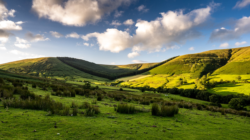 Black Mountains of Wales
