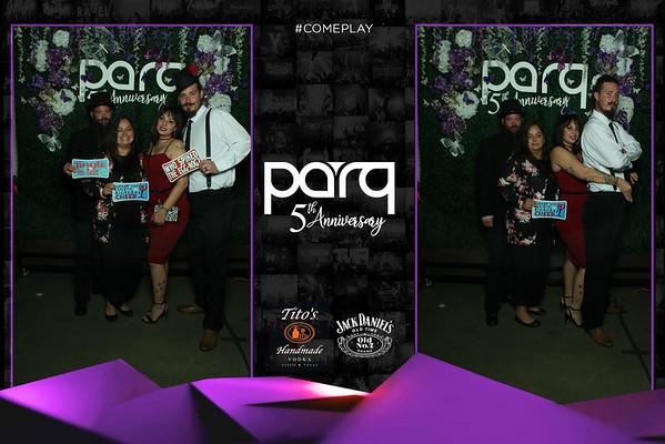 Parq 5th Anniversary