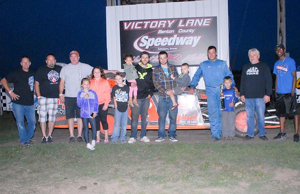 Benton County Speedway, Aug. 13, 2017