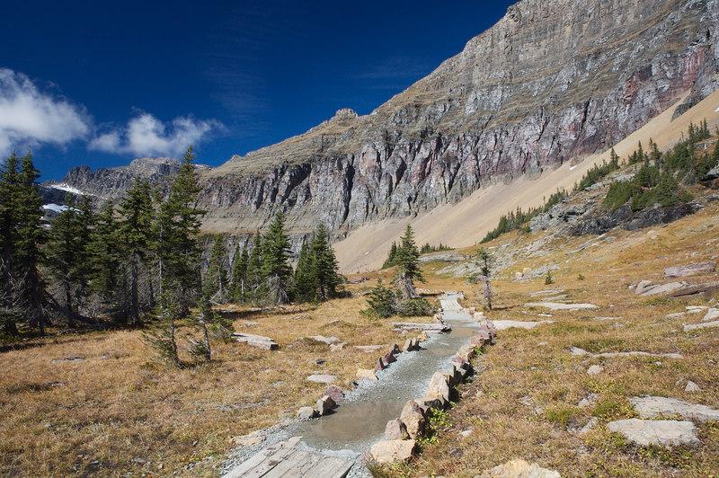 The Hidden Lake Trail