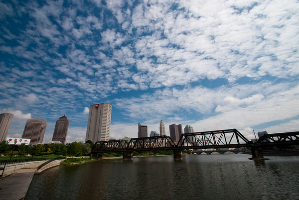 Photo of Columbus skyline