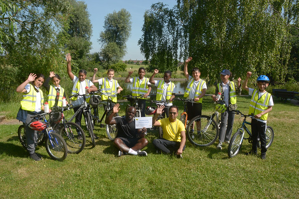 Haringey Schools Mass Bike Ride 2018