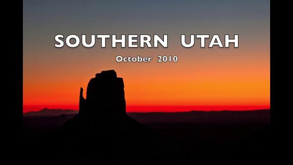 Southern Utah 2010