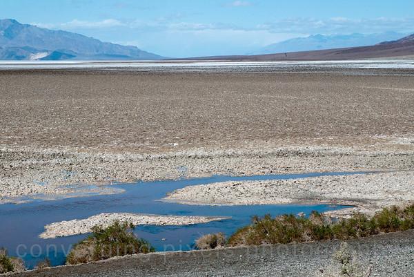 Badwater Salt Flats -282 ft.  2616