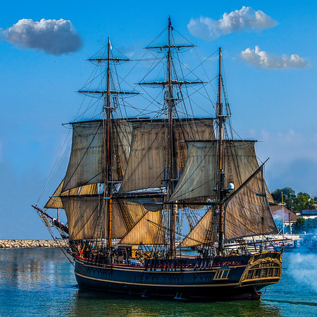 Tall Ships on the Great Lakes